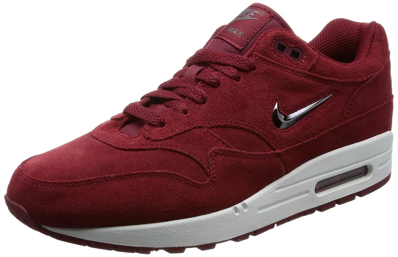 Nike Air Max 1 AM1 Premium SC Special Category  Team Red  Velvet Jewell Retro, Schuhe Herren  44.5 EU|Team Red/Metallic Dark Grey