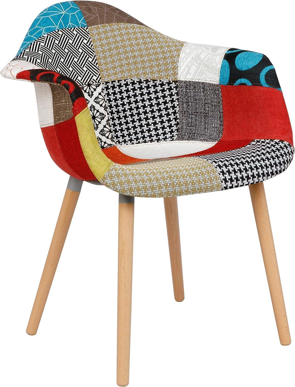 Chaise Katrina patchwork