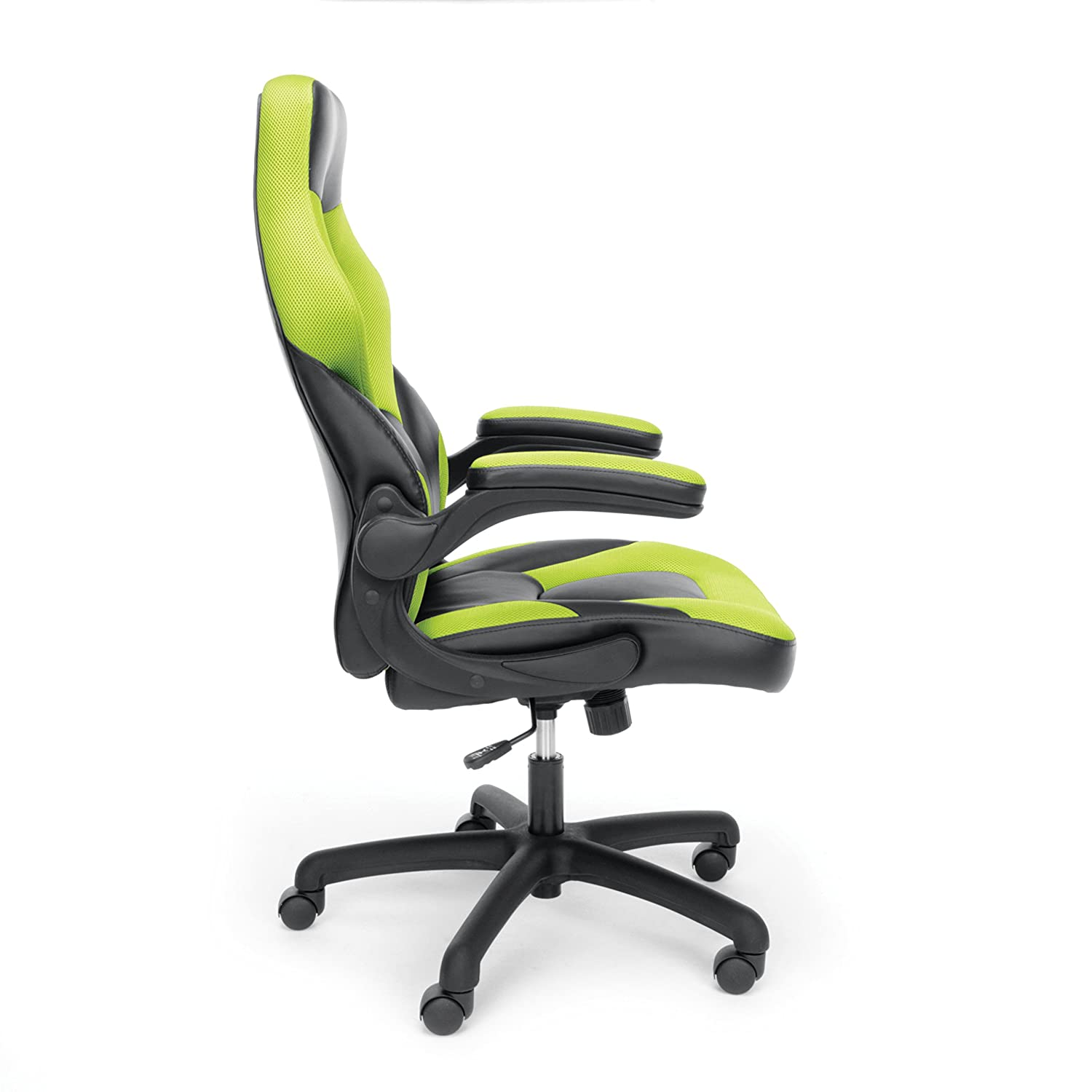 essentials racing style leather gaming chair ergonomic swivel