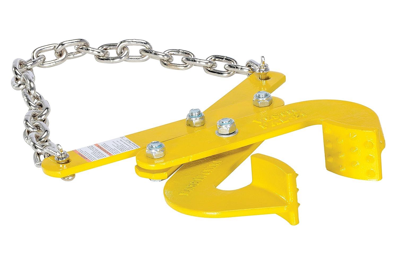 "Vestil PAL-21 Steel Double Scissor Pallet Puller, 5000 lbs Capacity, 3"" Opening x 2-3/4"" Height Jaw"