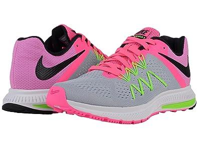 premium selection f3bd8 b0160 ... Nike Womens Zoom Winflo 3 Running Shoe (5 B(M) US, ...