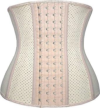 Yianna Women/'S 4-Hooks Latex Waist Trainer//Cincher//Corsets Shaper Weight Loss Sp