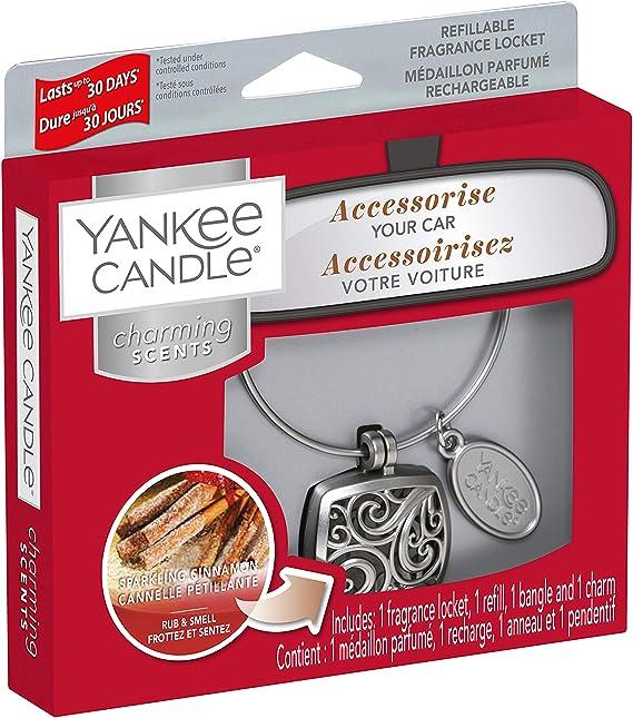 Yankee Candle Sparkling Cinnamon Square Charming Scents Starter Set Küche Haushalt
