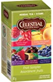 Celestial Seasonings Herbal Tea Fruit Sampler - 18 Tea Bags