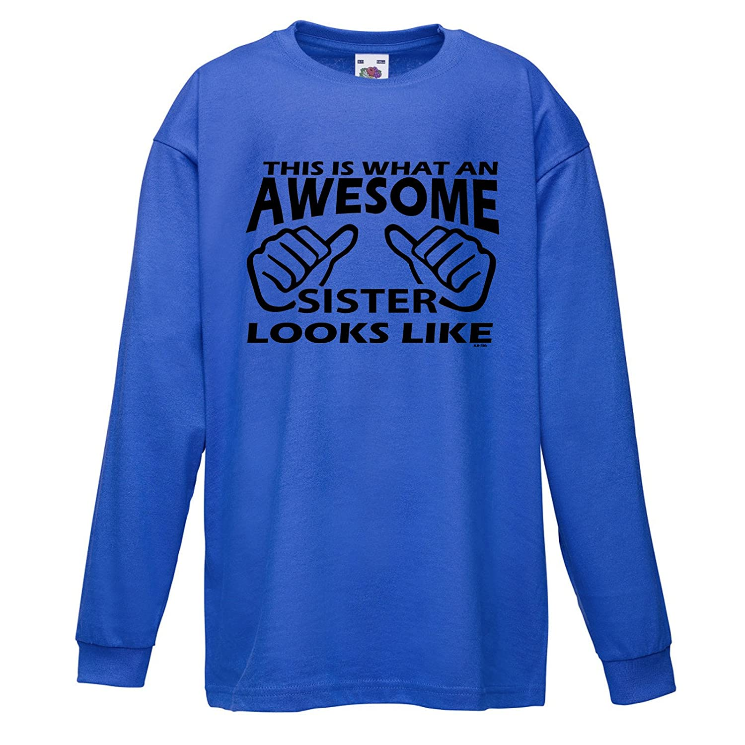 StarliteFunnyShirts Kinder t-Shirt Awesome Sister lustige Shirts Fun ...