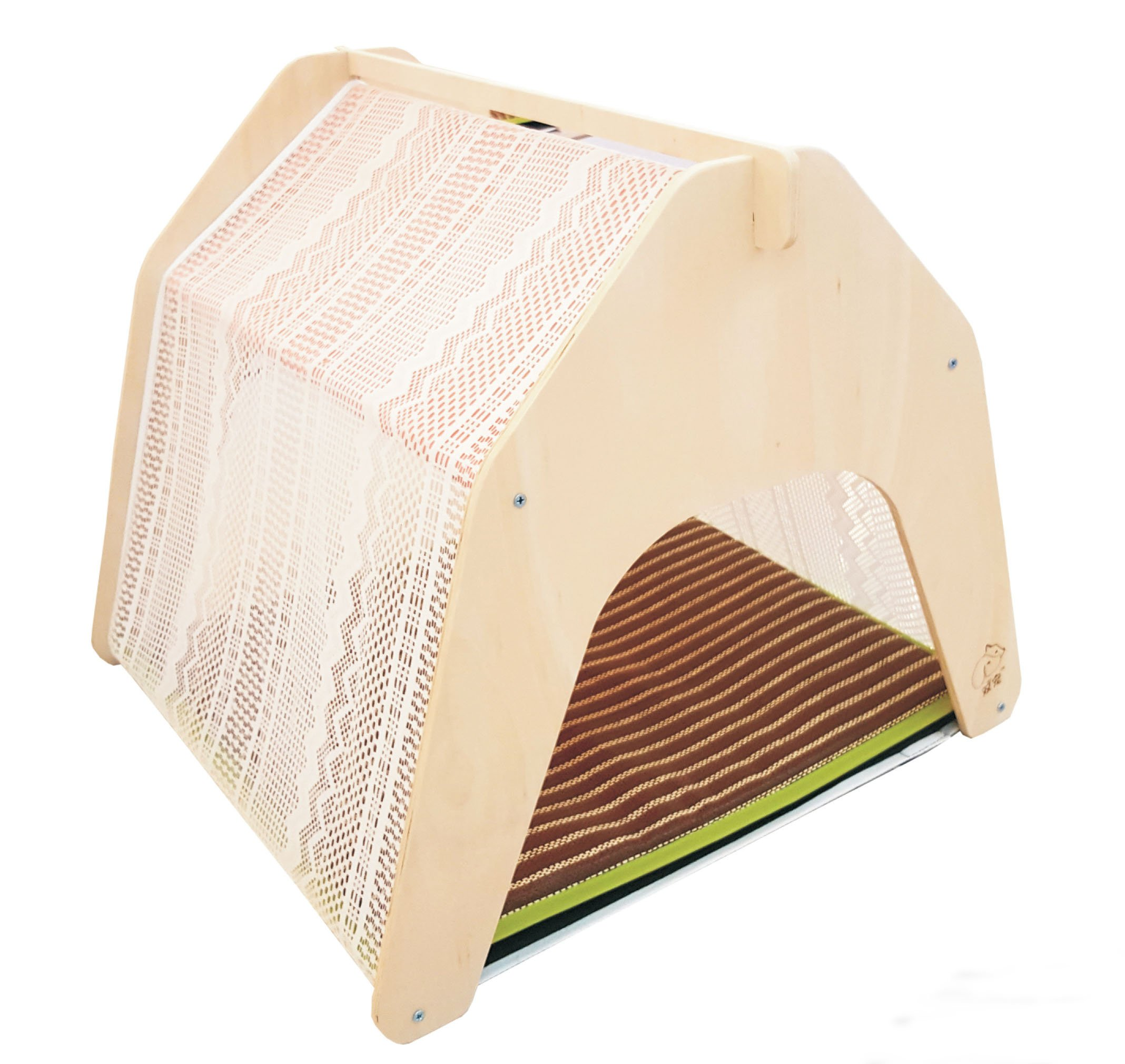 Rolling Creek Lace Pet Bed - Indoor Dog Cat House