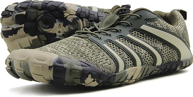 Oranginer Zapatos Descalzos para Hombre – Caja de Dedo Gordo ...