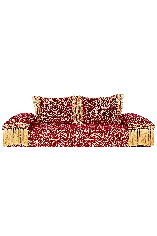 Sofá oriental Yassir de 200 cm, 3 plazas, juego de sofá ...