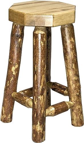 Log Furniture Wooden Bar Stool