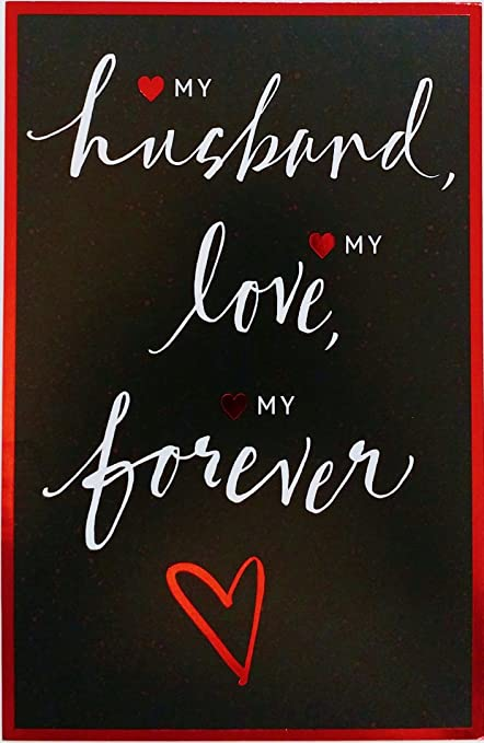 my husband my love my forever happy valentines day greeting card quot