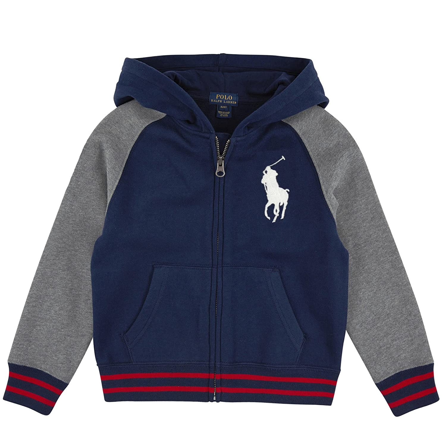 Ralph Lauren Polo Boys Big Pony Hoodie Pullover
