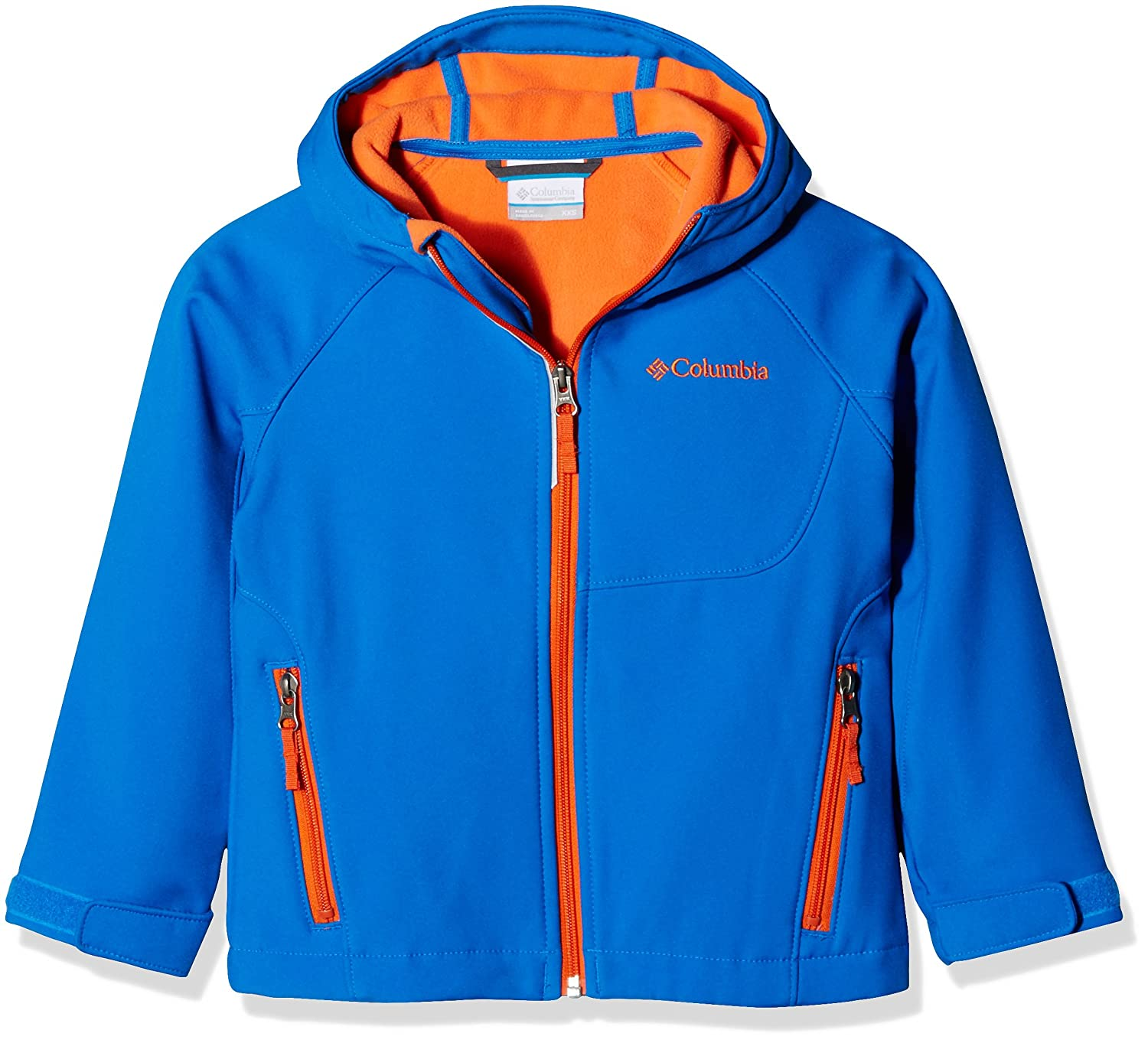 Columbia Cascade Ridge Softshell Chaqueta niño, Color Super Blue, tamaño XL 888667223464
