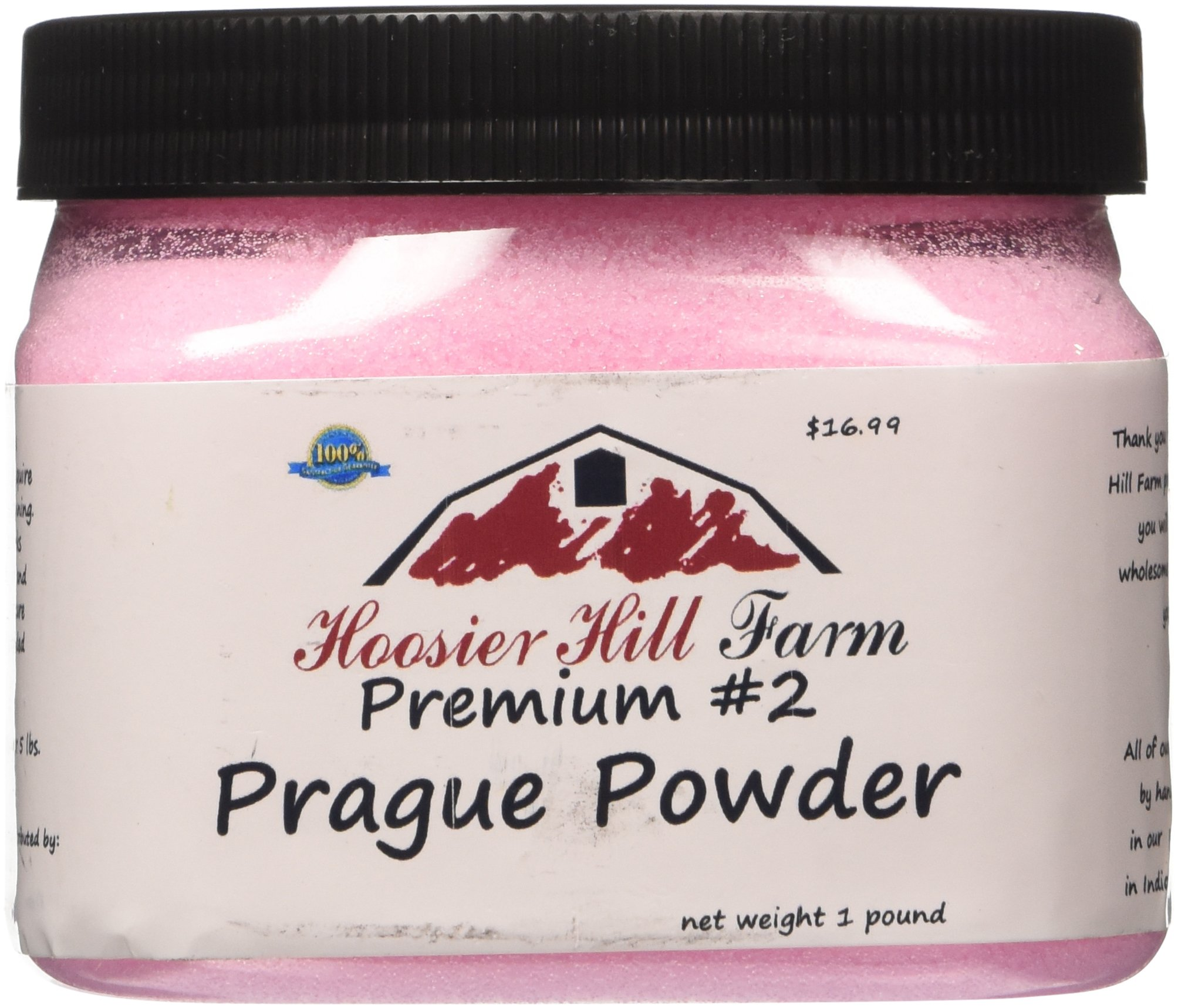 Hoosier Hill Farm Prague Powder No.2 (#2) Pink Curing Salt, 1 lb.