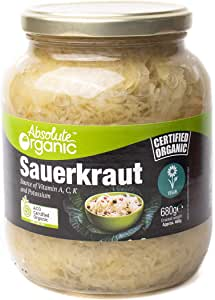 Absolute Organic Organic Sauerkraut, 680 g