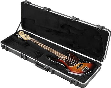 SKB 1SKB-44PRO - Maleta para bajo eléctrico profesional rectangular: Amazon.es: Instrumentos musicales