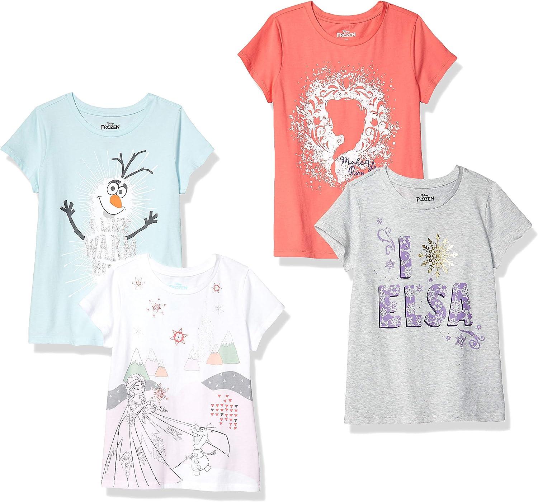 NEW Girls Disney Frozen T-Shirt Elsa Anna Olaf 2T or 3T Toddler You Choose
