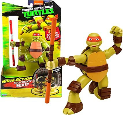 Amazon.com: Playmates Year 2015 Teenage Mutant Ninja Turtles ...