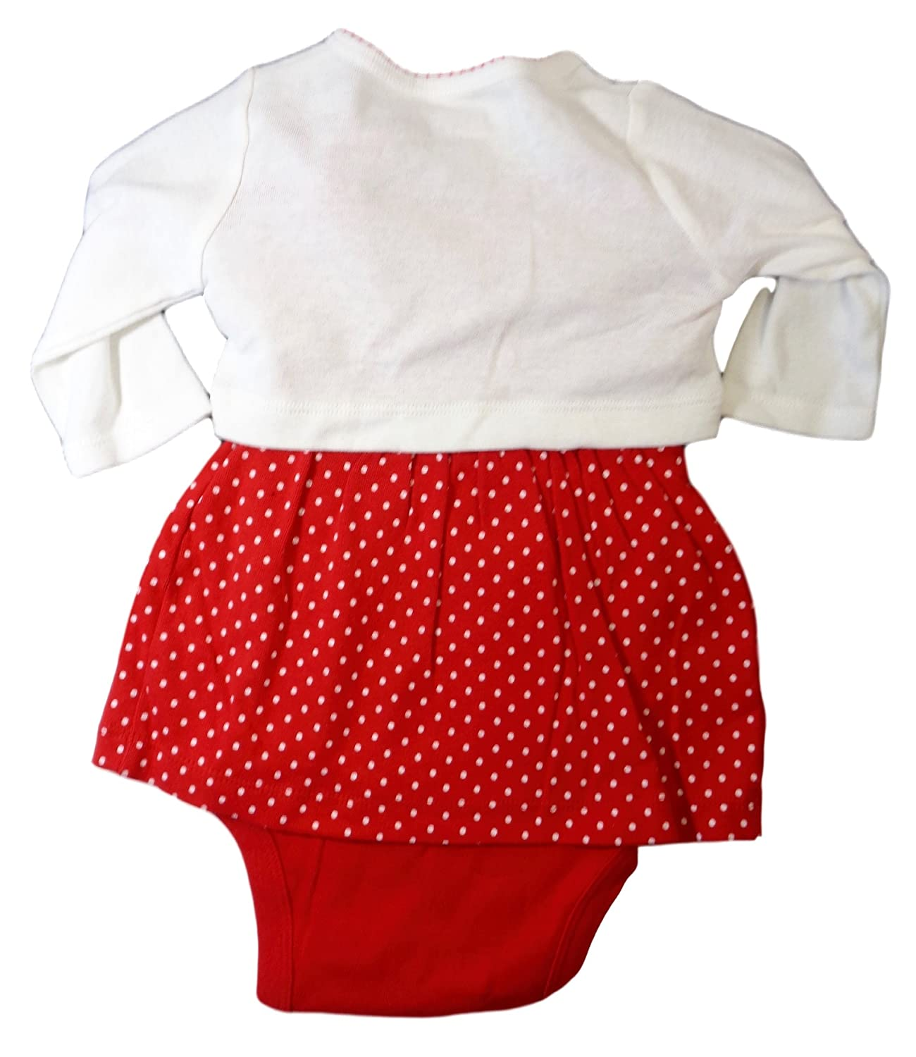 05dc19f29 Amazon.com: Just One You by Carter's Girls' 2 Piece Santa Dress Set - (Baby  0-24 Months) (3 Months): Clothing