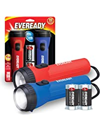 EVEREADY LED Flashlight Multi-Pack, High Lumens Flash Light, Perfect Flashlights For Camping Accessories, Hurricane...