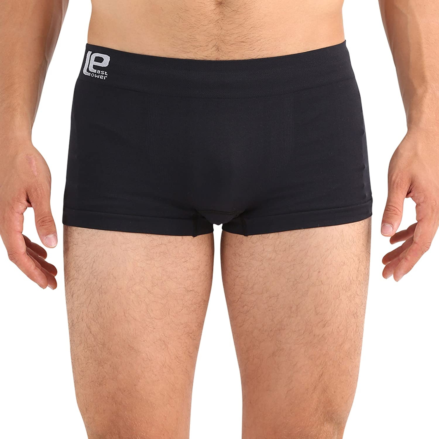 set of 3 Lower East Mens Seamless Boxer Shorts