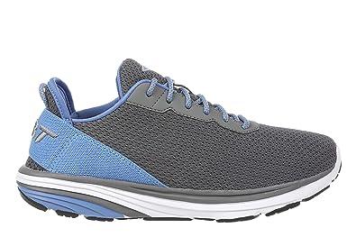 439584408b79 MBT USA Inc Women s Gadi Grey Light Blue Lightweight Walking Sneakers  702036-1275M Size