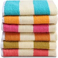 HSR Collection 50x32cm Cotton Hand Towels - Set of 6