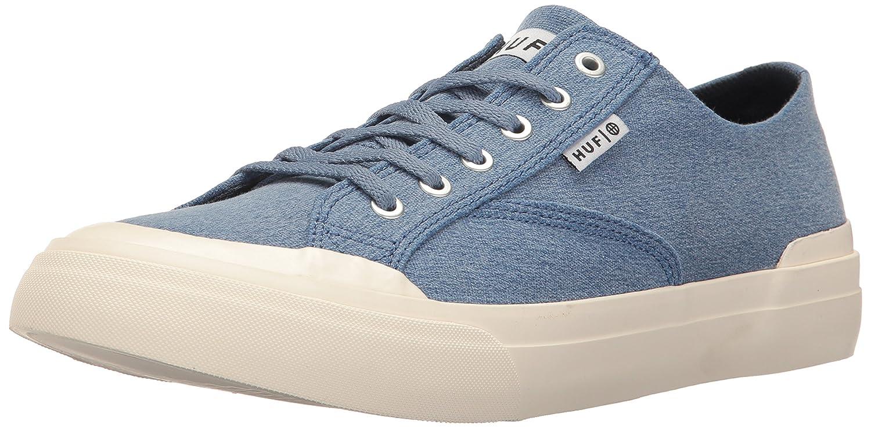 HUF Men's Classic Lo Ess Tx Skateboarding Shoe 10 D(M) US|Blue Shadow