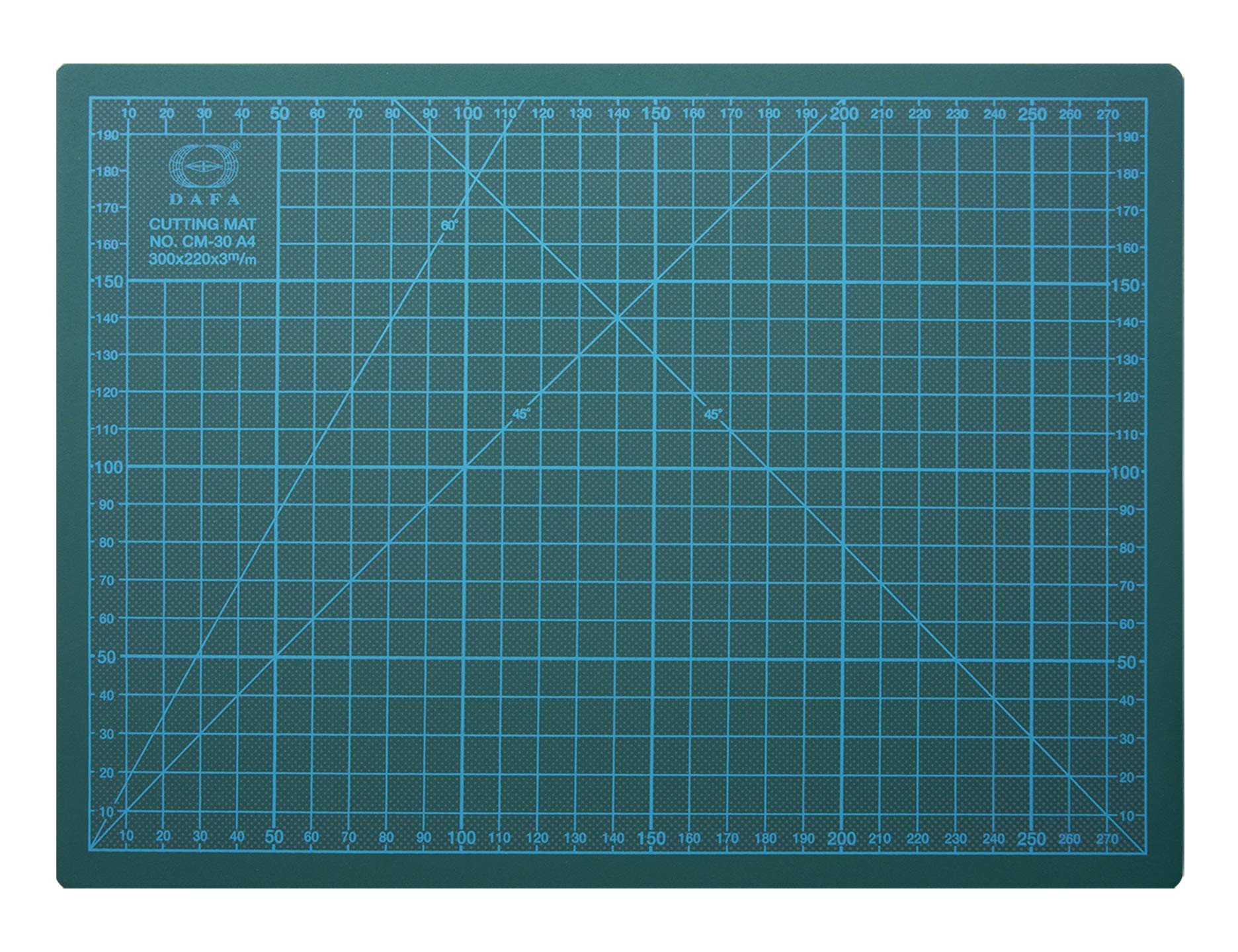 DAFA Professional 36'' x 24'' Self-Healing, Double-Sided Cutting Mat, Rotary Blade Compatible, (36x24), (24x18), (18x12), (12x9) Sizes, for Sewing, Quilting, Arts & Crafts by DAFA (Image #1)