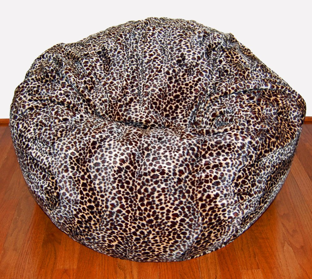 Bean Bag Chair Toys Com Ahh S Cheetah Animal Print Fur Washable Large