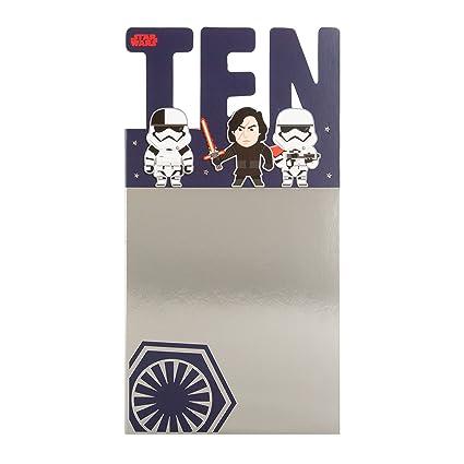 Hallmark Star Wars 10th Tarjeta de cumpleaños