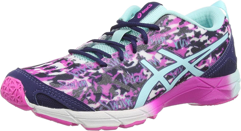 ASICS Gel-Hyper Tri, Zapatillas de Running para Mujer, Rosa (Pink Glow/Aqua Splash/Navy 3567), 37 EU: Amazon.es: Zapatos y complementos