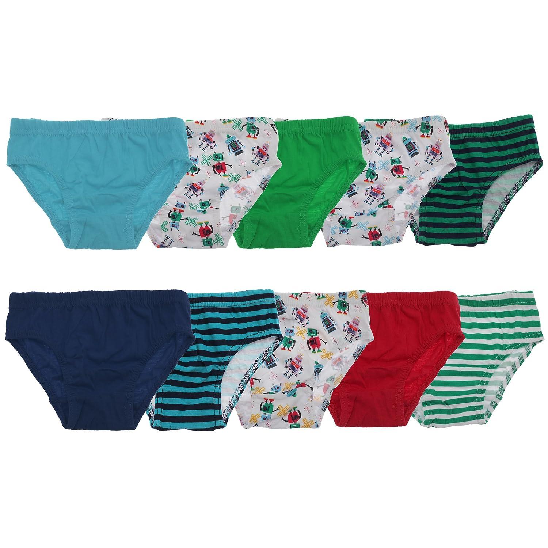 Tom Franks Boys/Childrens Briefs Underwear (10 Pack)
