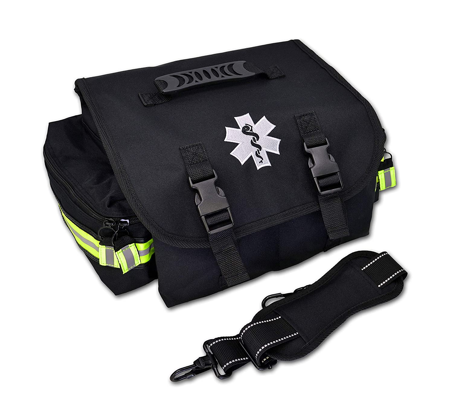 Lightning X Small EMT Medic First Responder Trauma EMS Jump Bag w/Dividers (Stealth Black) Lightning X Products Inc