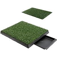 Paw Mate Pad Tray L 63 x 50cm - 1 Grass Mat