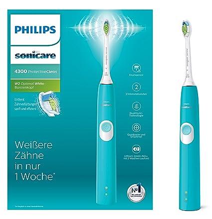 Philips Sonicare hx6802/28 Protect Ive Clean 4300 Cepillo de dientes eléctrico con tecnología de