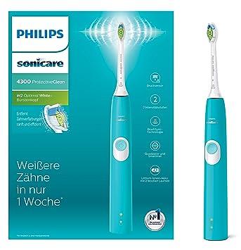 Philips Sonicare hx6802/28 Protect Ive Clean 4300 Cepillo de dientes eléctrico con tecnología de sonido,: Amazon.es: Salud y cuidado personal