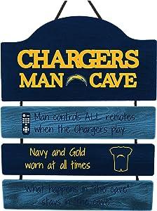 FOCO NFL Mancave Team Logo Man Cave Hanging Wall Sign