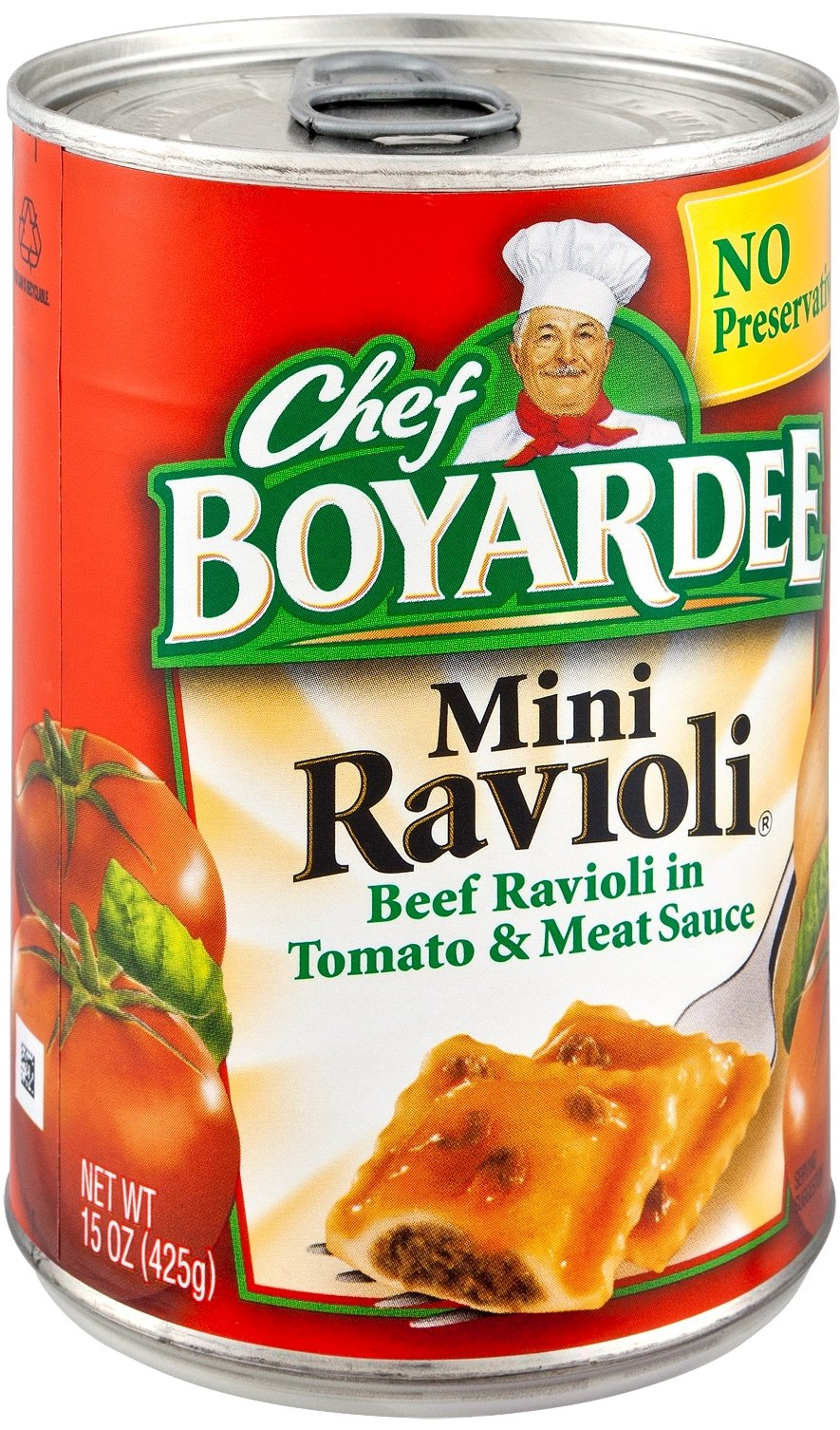 Chef Boyardee Mini Ravioli, 15 oz Can (Pack of 16)