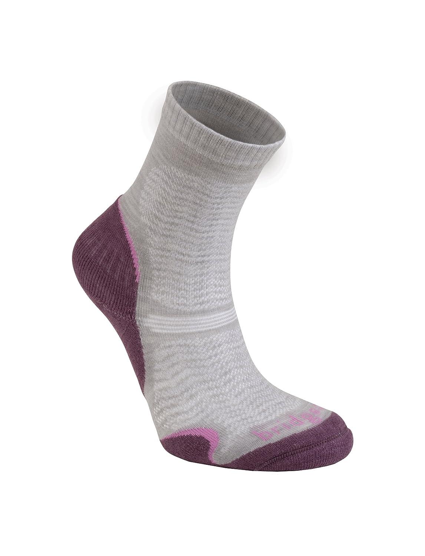 Bridgedale Women's WoolFusion Trail Ultra Light Socks
