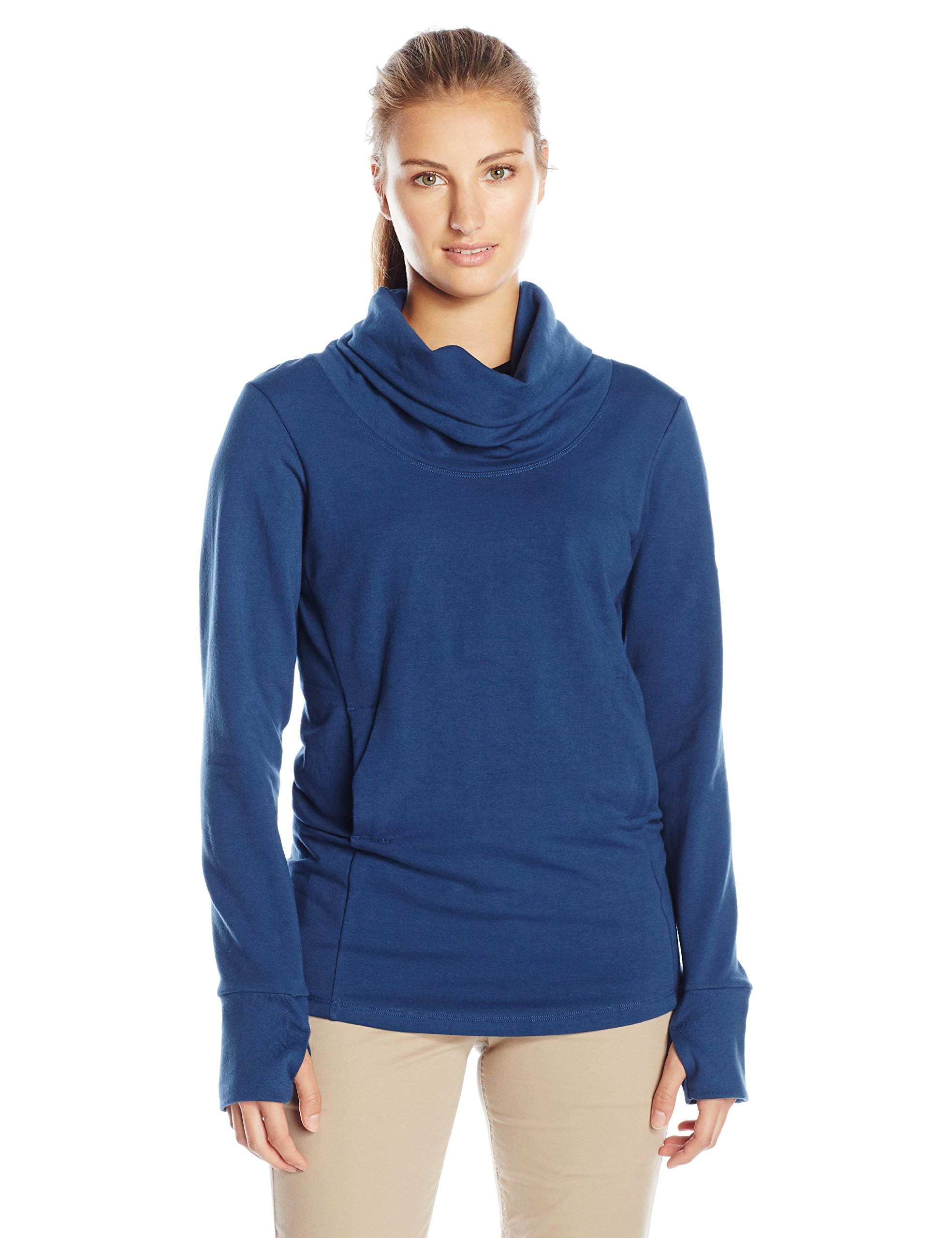 FIG Women's BRU Sweater, X-Large, Jay