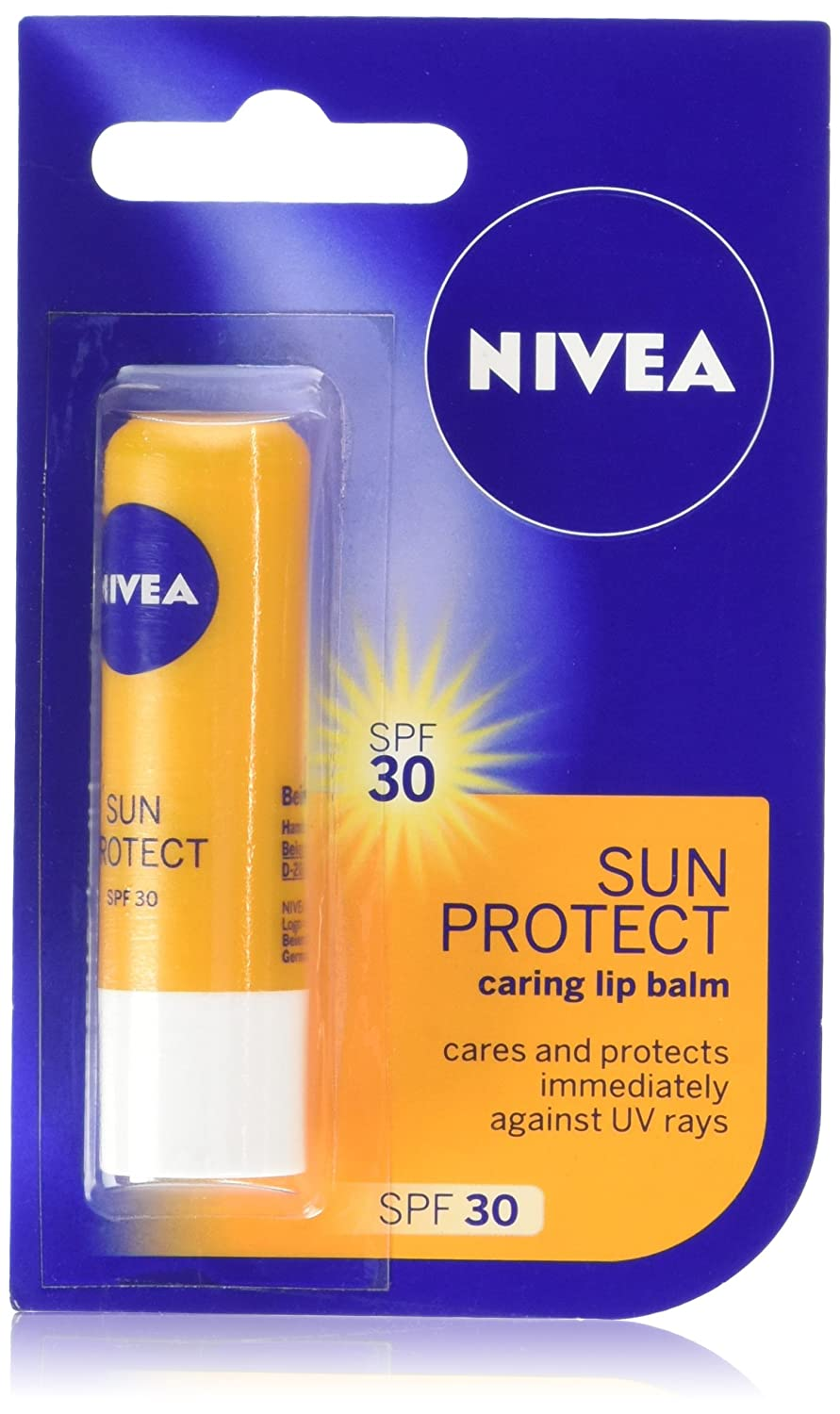 NIVEA SUN Lip Balm with SPF 30, 4.8 g Beiersdorf Uk Ltd 2541126