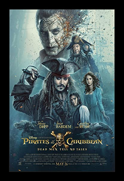 Poster film Pirates of Caribbean: Dead Man Tell No Tales.