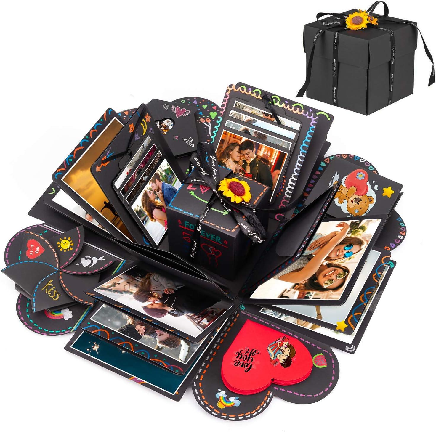 Surprise Explosion Box Album Memory Scrapbook Photo Album Kits Anniversary Gift