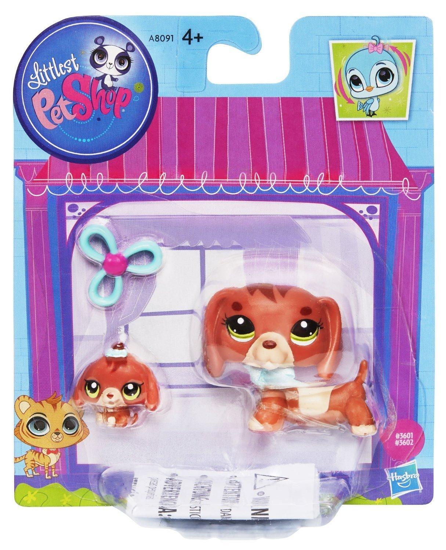 Amazoncom Hasbro Littlest Pet Shop Lps Dachshund Dog Baby Figure