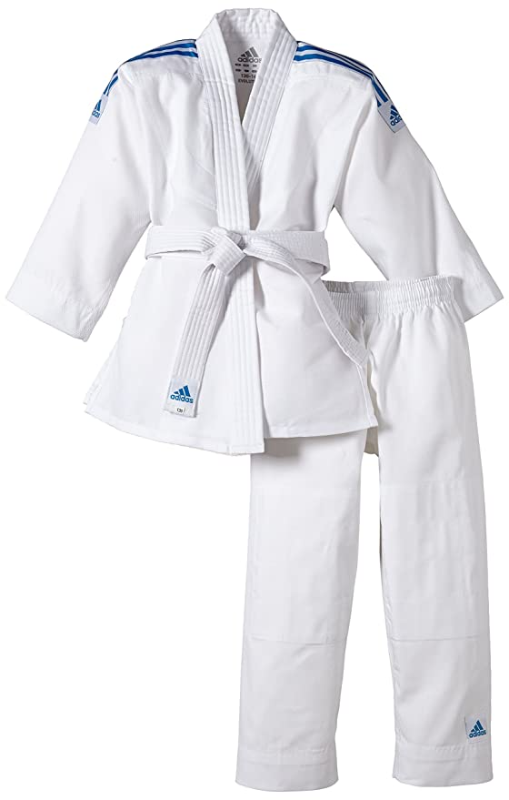 Adidas Judo Anzug Evolution (INKL. Gürtel) - Prenda: Amazon.es ...