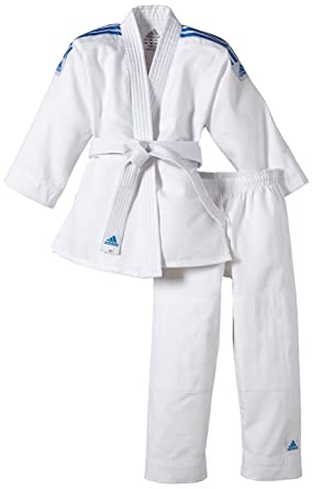 ef2d7ca6d adidas Kinder Judo Anzug Evolution (inkl. Gürtel) White white Size:100/