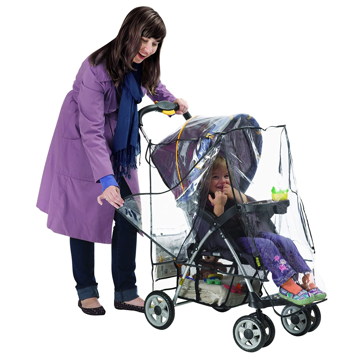 Nuby Deluxe Stroller Weather Shield, Clear 120010