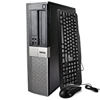2016 Dell Optiplex 980 High Performance Business Desktop Computer (Intel Core i5 up to 3.46GHz Processor), 8GB RAM, 500GB HDD, DVD, Windows 7 Professional (Certified Refurbished)
