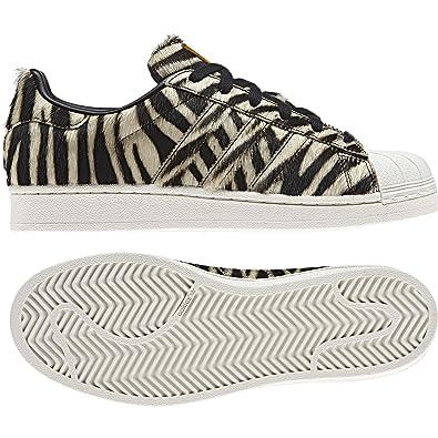 adidas Originals Superstar W Sneaker Damen SchwarzOlivegelb Sneaker Low