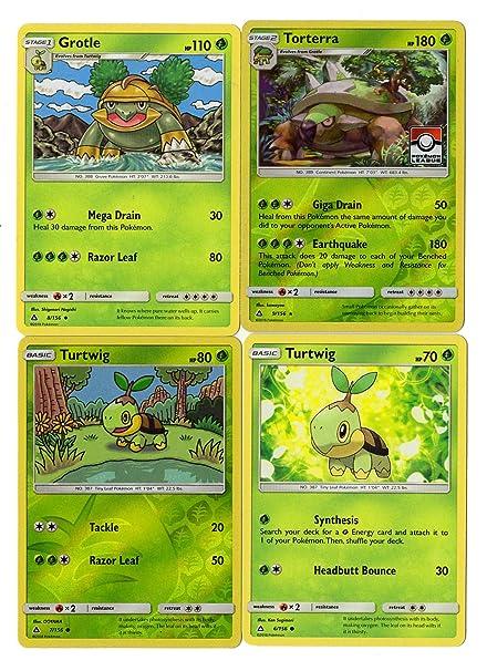 Amazon.com: Torterra Grotle Turtwig - Set de evolución para ...
